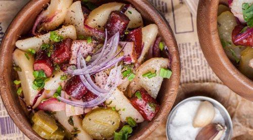 Опікунка на кухні: німецький картопляний салат