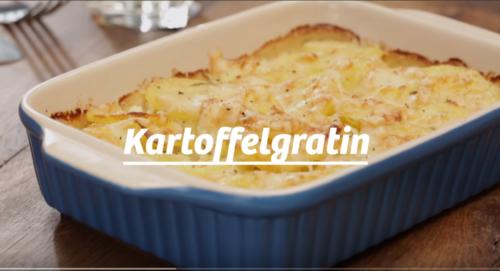 Німецька кухня для опікунок : KARTOFFELGRATIN